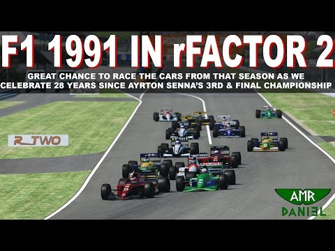 F1 1991 IN RFACTOR 2