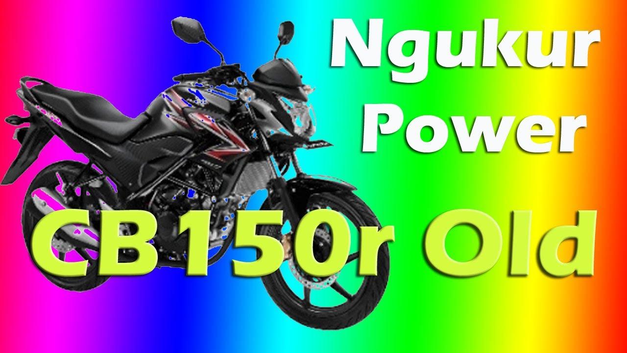 Cara mengukur menghitung power sepeda motor - YouTube