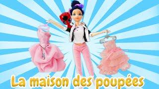 Vidéo en français pour enfants. LadyBug Marinette fait le shopping. Le bal de printemps