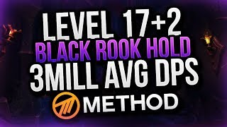 3 MILL AVERAGE ELE DPS! LVL 17 + 2 Black Rook Hold Mythic+ Cayna POV Method