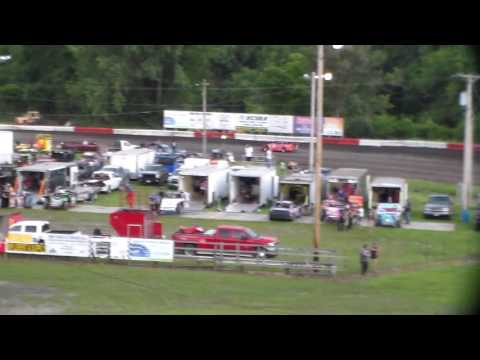 Late Model Heat 1 @ Hamilton County Speedway 07/16/16