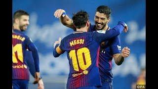 Barcelona vs Valencia 2-1 Goals & Highlights 2018 HD