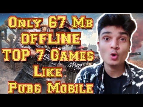 OFFLINE TOP 7 Games Like Pubg Mobile | Alternative  Offline Games For Android | Battle Royale Games