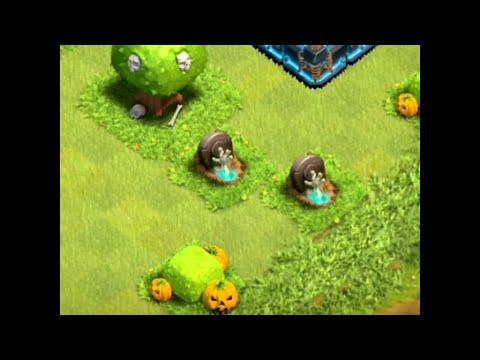 Clash Of Clans - HALLOWEEN UPDATE!!! (tombstone)