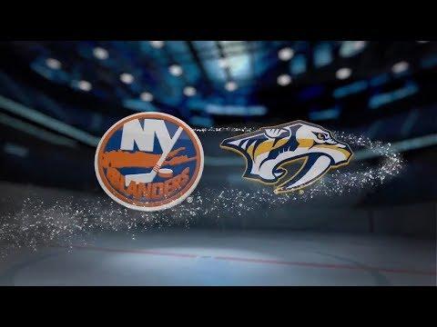 New York Islanders vs Nashville Predators (2-5) – Oct. 13, 2018 | Game Highlights | NHL 2018