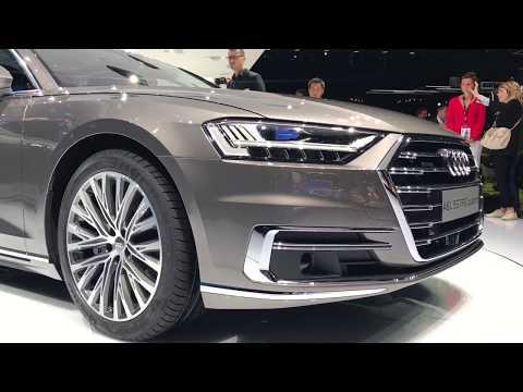 2018 Audi A8 L quattro walkaround at Frankfurt Motor Show 2017