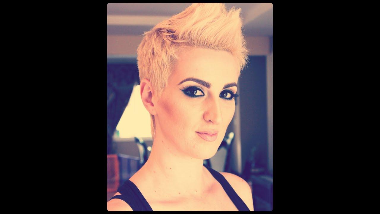 pink inspired haircut tutorial