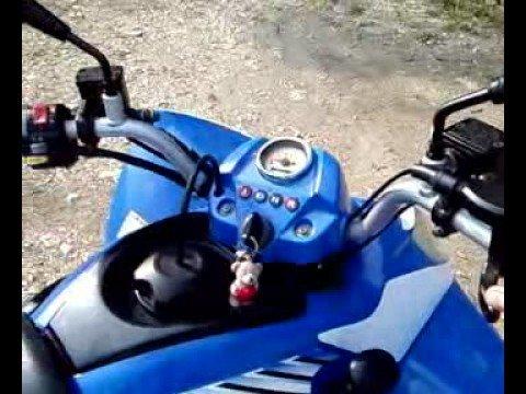 kymco maxxer 300 il mio quad - youtube