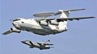俄国天空千里眼 a100预警机与中国空警硬碰硬