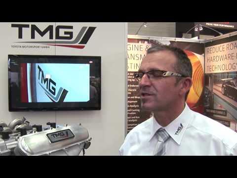 Professional Motorsport World Expo 2013 Exhibitor Interview -- TMG - Toyota Motorsport