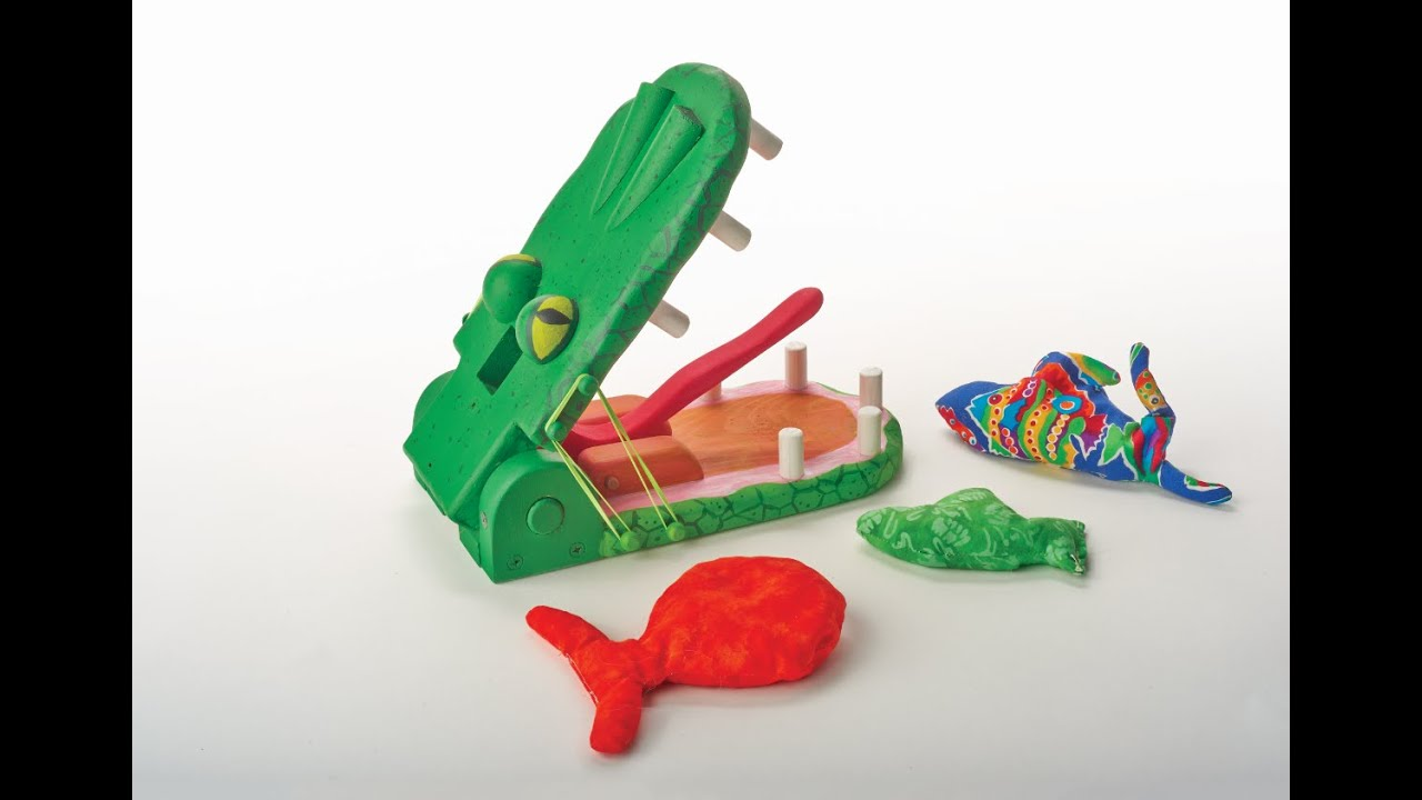 gator snap: wooden toy plans | fox chapel publishing