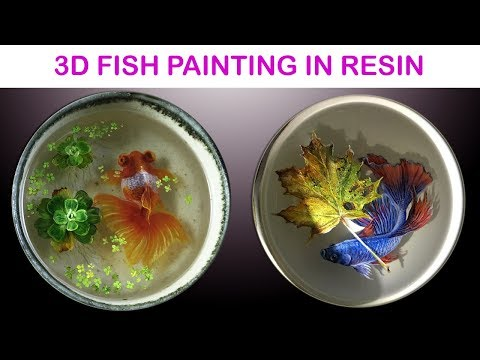 3D Goldfish Painting in Resins Introduction Video