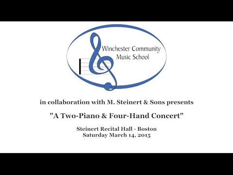 A Two-Piano & Four-Hand Concert  (03/14/15)