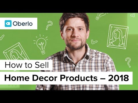 How to Sell Home Decor Products Online