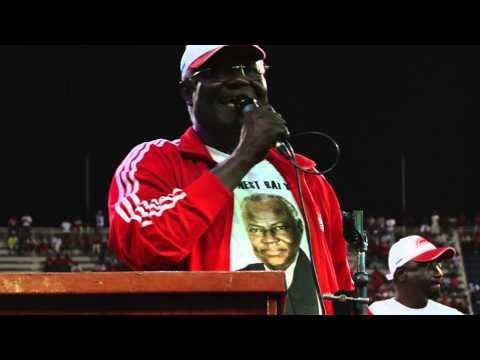 President  Ernest Koroma( I Have a Dream Speech)