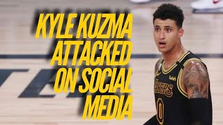 Kyle Kuzma Attacked On Social Media After Celebrating NBA Championship