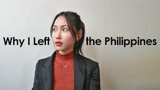 Why I Left the Philippines 한국에 온 이유
