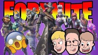 FORTNITE SEASON 6 BATTLE PASS New Update Gameplay - Commentaire Livestream familial