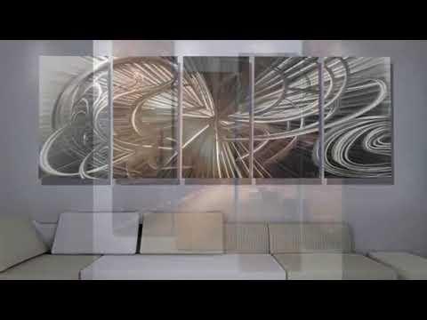 Contemporary Wall Art - Large Contemporary Wall Art Canvas   Interior Decor & Design