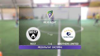 Обзор матча Rest Brothers United Турнир по мини футболу в Киеве