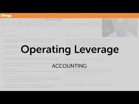 operating-leverage-|-accounting-|-chegg-tutors