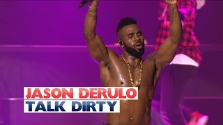 Repeat youtube video Jason Derulo - 'Talk Dirty' (Live At The Jingle Bell Ball 2015)