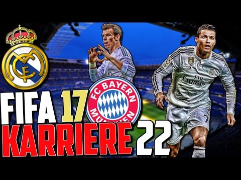 DIE RACHE 😈😈 CL VIERTELFINALE VS REAL MADRID 🔥 | FIFA 17 Karrieremodus Fc Bayern (Deutsch) #22