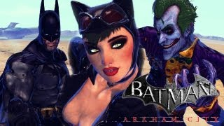 Street Fighter X Tekken - Batman x Catwoman VS The Joker x Batman Beyond (Arkham City Mods) [1080p]