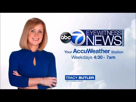 """WLS-TV Tracy Butler Weather Promo - """"Start your day with Eyewitness News"""" (2018)"""