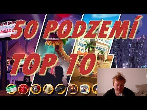 50 PODZEMÍ | TOP 10   | Hero Zero | CZ/SK