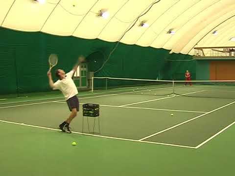 Теннис, тренировка .Meet and Greet Andrei Cherkasov