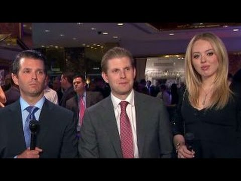 Trump kids: There's no place like home