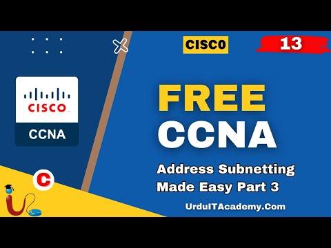 FREE URDU CCNA Lecture 13 Subnetting Part 3