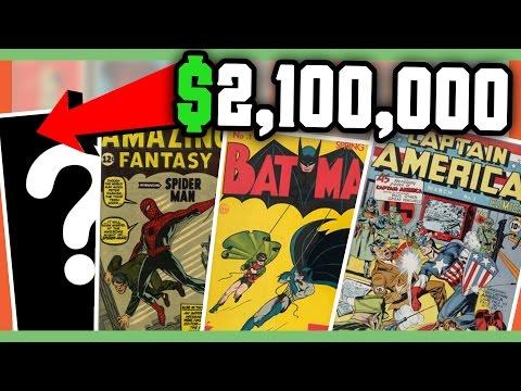 RARE COMIC BOOKS WORTH MONEY - MOST EXPENSIVE COMIC BOOKS!!
