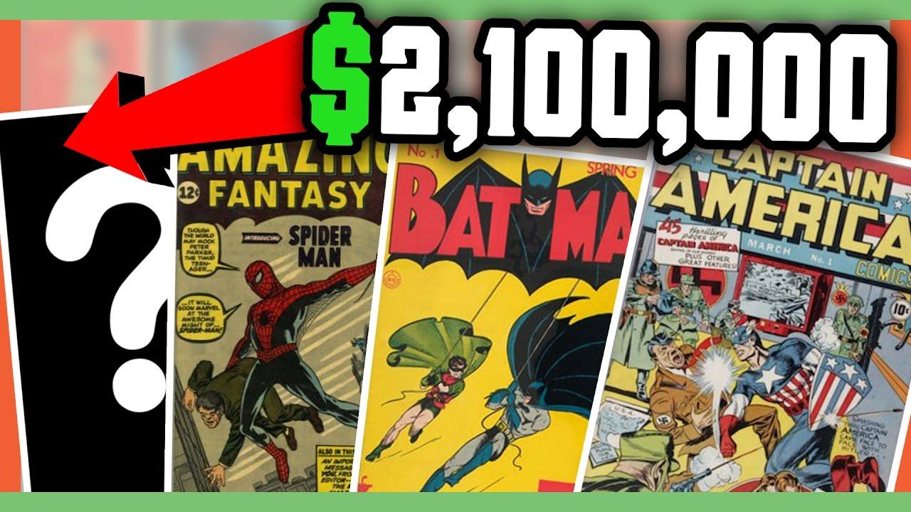 rare comic books worth money most expensive comic books youtube rh youtube com Spider-Man Comic Book Price Guide Rare Vintage Disney Comic Books