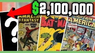 RARE COMIC BOOKS WORTH MONEY - MOST EXPENSIVE COMIC BOOKS!!