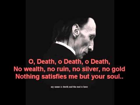Jen Titus  O death (Lyrics)