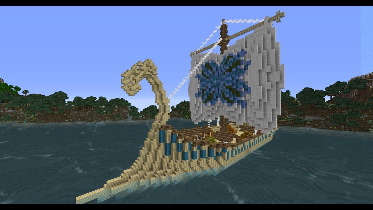 Epic Minecraft- Elven/Elfen Ship/Schiff