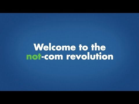 Join the Not-Com Revolution: It's All About You!