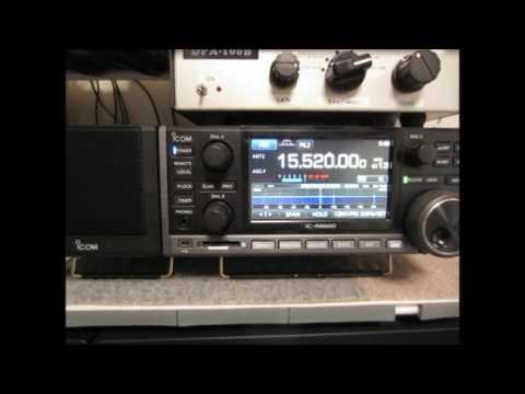 ICOM IC-R8600 Radio Exterior de Espana
