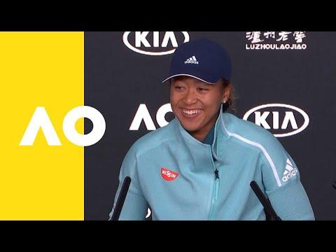 Naomi Osaka press conference (4R) | Australian Open 2019