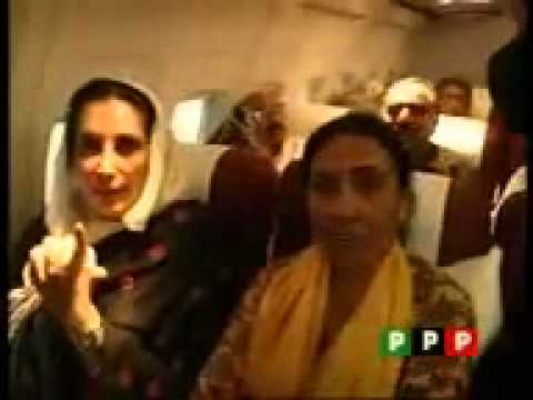 dushmano k dil m teer G A BHUTTO BENAZIR
