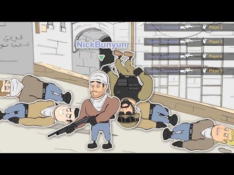 CS GO Cartoons Ep 4 - WHEN IT ALL GOES BAD