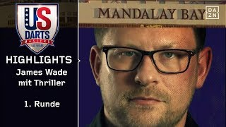 James Wade mit Thriller im Mandalay Bay | US Darts Masters | Highlights | Las Vegas | DAZN Darts
