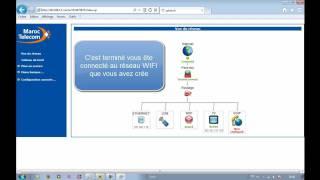 Configuration du réseau WIFI avec le routeur Sagem 3304 V2 de Maroc Telecom