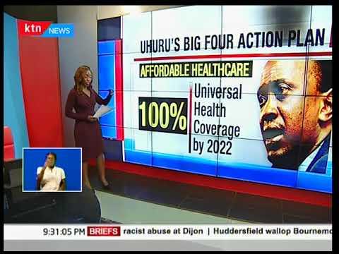 Image result for images of uhuru' health big four agenda
