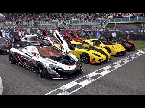 $50 MILLION HYPERCAR GATHERING IN THE NETHERLANDS!