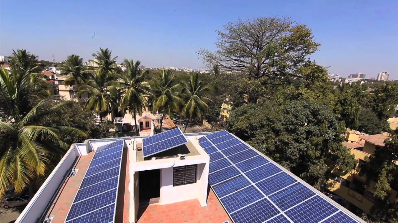 Wind and solar energy is growing in India - YouTube