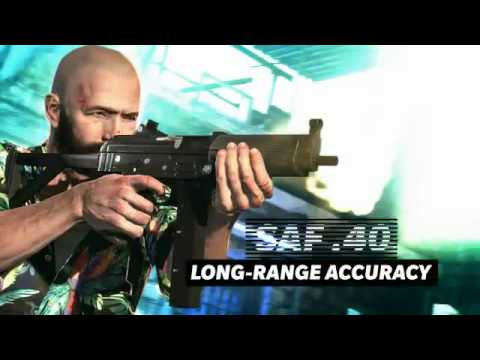Max Payne 3 Weapons Trailer SMGs