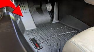 Installing WeatherTech Floor Mats in the BMW i8